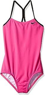 Nike Big Girls' Racerback One Piece Swimsuit