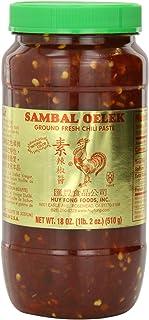 Huy Fong Sambal Oelek, 18-Ounce Jars (Pack of 12)
