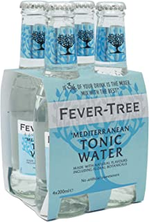 Fever tree Mediterranean Tonic Water, 200 ml (Pack Of 24)