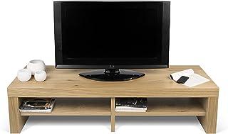 TemaHome Fusion TV Table, Placage de chêne, 154 x 49 x 37 cm