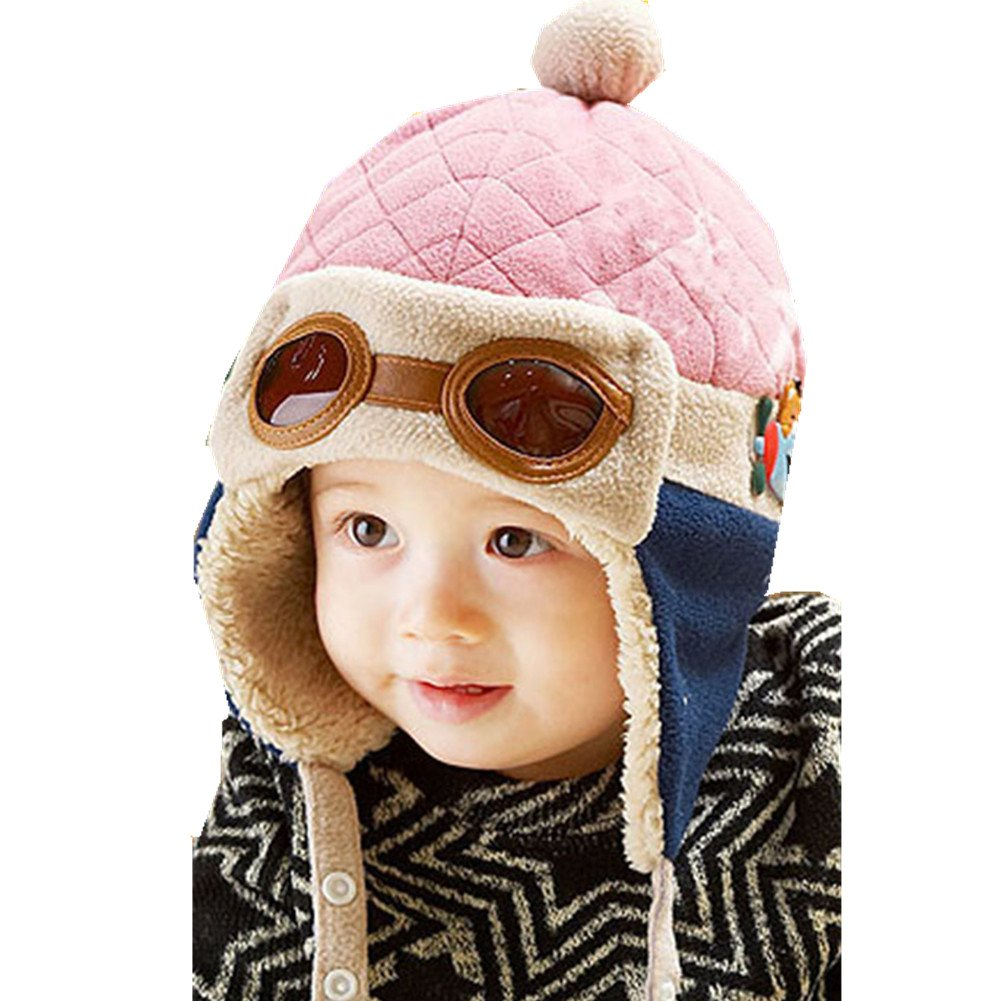 Accessories Chinatera 2pcs Baby Kids Boys Girls Warm Knitted Hat+Scarf Set
