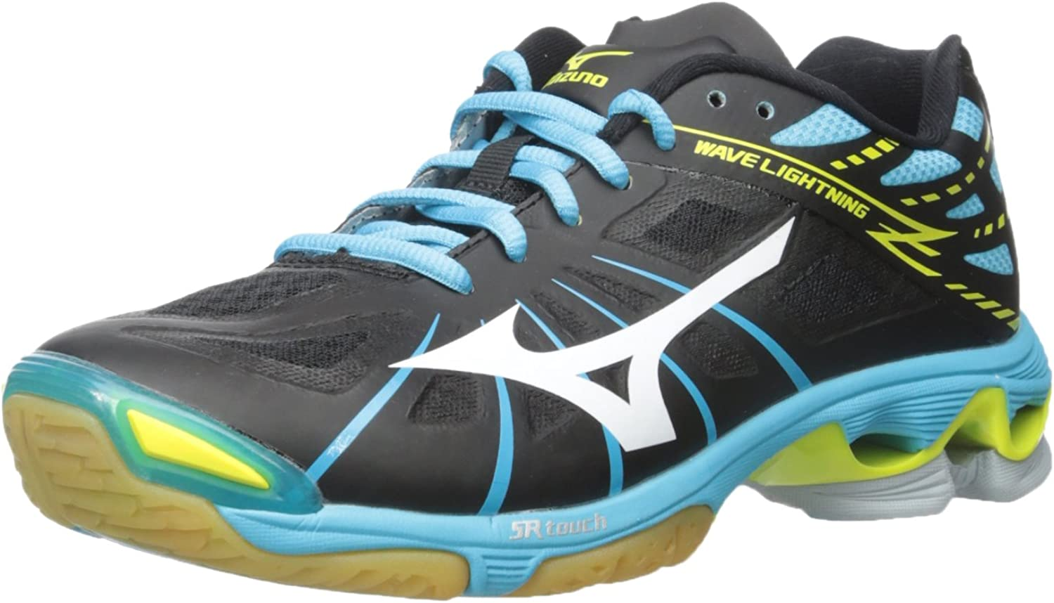 Mizuno Women's Wave Lightning Z Woms BkAb Volleyball shoes