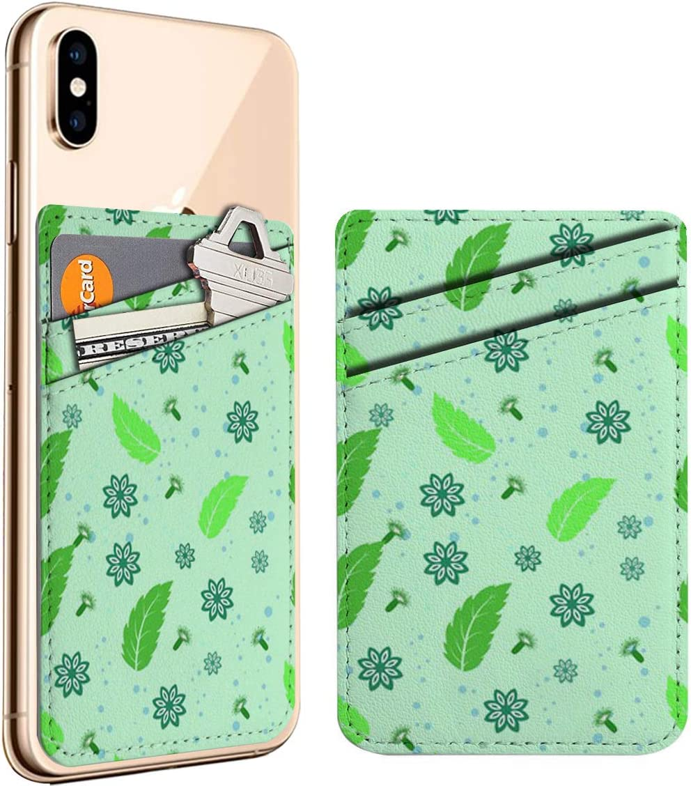 Mint Anise Clove Cell Phone Stick Card Leather Ho Direct sale of manufacturer Max 85% OFF Credit On ID