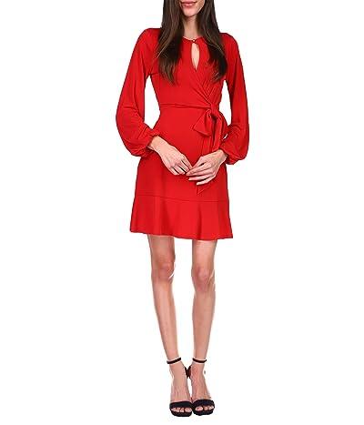 MICHAEL Michael Kors Solid Mini Wrap Dress Women