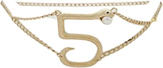 Best snake chain belt Reviews