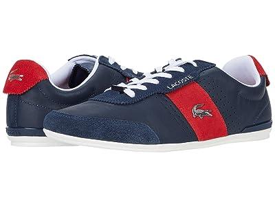 Lacoste Oreno 0120 1 (Navy/Red) Men