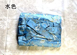 Japanese 13-strings Koto Cover Brocade-Light Blue w/import shipping 琴袋 13絃 用 ブロッケード布地 水色