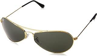 Ray-Ban UV protection Rectangular Unisex Sunglasses (0RB3306I00160|58 millimeters|Crystal Green)