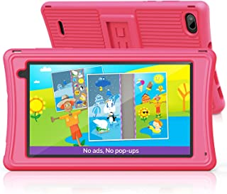 Kids Tablet 7 inch, Android 10, 2GB RAM+16GB ROM, Parental Control, Eye Protection Screen, Dual Camera, Tablet for Toddler...
