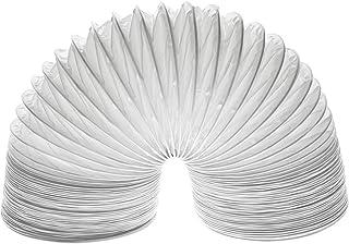 Invero - Manguera de ventilación de condensador universal de 4 metros para la mayoría de marcas y modelos de secadoras de ventilación (102 mm de diámetro)