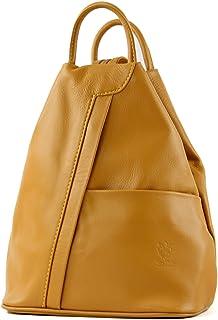 modamoda de T180 - ital Damen Rucksack Tasche Nappaleder