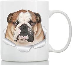 Taza de Bulldog Inglés - Taza Bulldog de Cerámica para Caf
