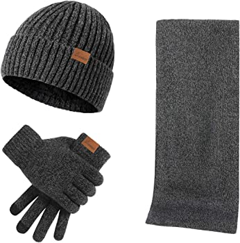 3-Piece Kata Unisex Winter Accessory Set