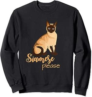 Best Siamese Please Cat Lover Gift Sweatshirt