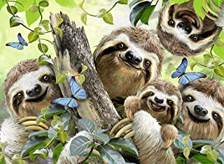 Jigsaw Puzzles for Adults 1000 Piece - Sloth and Tree - Kids Puzzles Toys Educational Puzzles Jigsaw