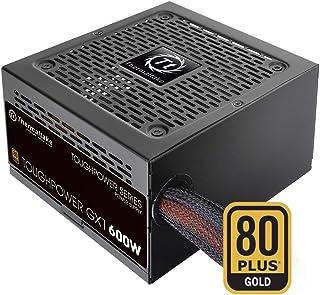 Thermaltake Toughpower GX1 - Fuente de alimentación (500W hasta 700W, regulación tensión Apretada, Ventilador de rodamientos) Color Negro