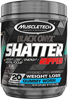 MuscleTech Shatter Ripped Black Onyx - Gummy Worm