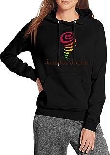 Ruslin Long Sleeve Womens Jamba Juice Hoodie Sweatshirt