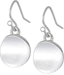 Kenneth Cole New York Shiny Earrings Small Circle Drop Earrings