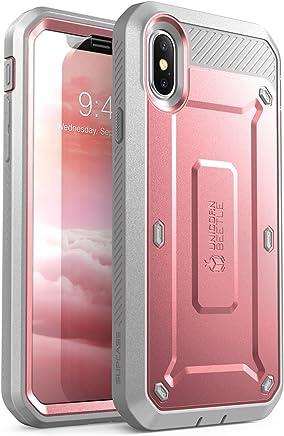 Funda para iPhone X, Compatible con iPhone XS 5.8,Supcase Serie Unicorn Beetle PRO iPhone 10 Funda Resistente a Todo el Celular con Protector de Pantalla Incorporado para Apple iPhone X / iPhone 10 2017 - Paquete Minorista