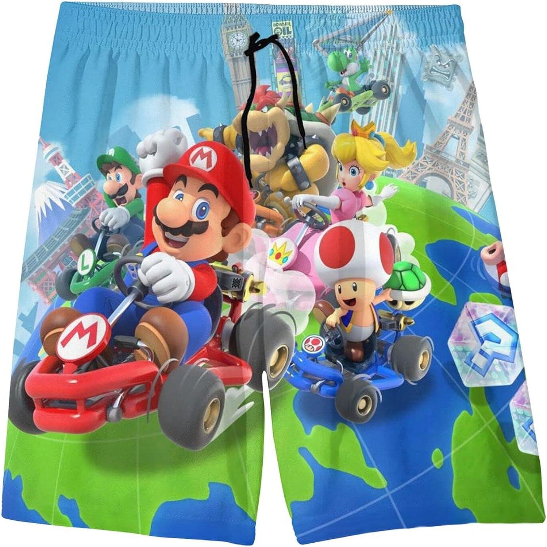 Hunwboi 2021 new Super Mario Boys' Printed Kids Swim Swimsuit Trunks Sale Special Price Beac