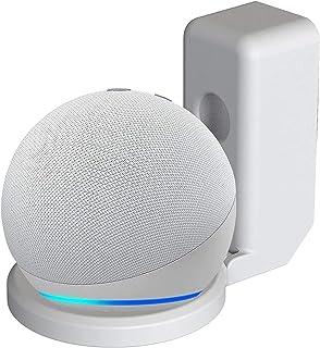 All-New, Echo Dot Wall Mount Holder for 4th Generation, GRINEER Amazon Alexa Echo Flex Smart Speaker Outlet Hanger, Echo D...