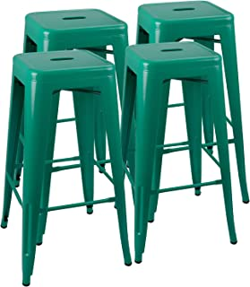 Miraculous Amazon Com Green Barstools Home Bar Furniture Home Customarchery Wood Chair Design Ideas Customarcherynet