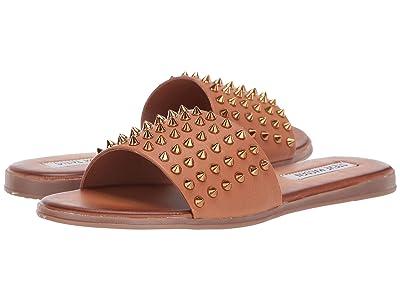 Steve Madden Farryn Flat Sandals (Cognac) Women