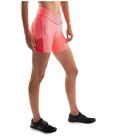 Pearl Izumi Sugar 5 Shorts (Atomic Red Print) Women