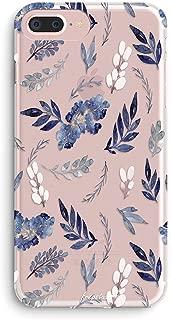 iPhone 6 Plus Case,iPhone 6s Plus Case,Girls Floral Flowers Tropical Purple Cute Purple Plants Leaves Succulents Cactus Indoor Plant Summer Beach Women Clear Soft Case for iPhone 6 Plus/6s Plus