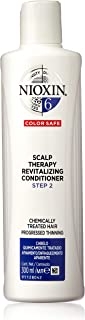 Nioxin System 6 Scalp Therapy Revitalizing Conditioner for Chemically Treated Hair with Progressed Thinning, 300ml
