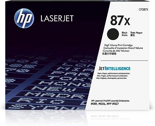 popular HP 87X | CF287X | Toner-Cartridge lowest | outlet sale Black | Works with HP LaserJet Enterprise M527, M506, M501 | High Yield online sale