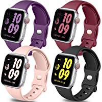 Deals on 4-Pack Getino Band Compatible with Apple Watch