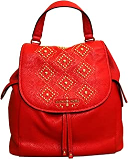 Pebble Leather Riley Large Backpack Dark Sangria (Studded Dark Sangria)