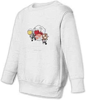 Kanye West Kid Cudi Toddler Juvenile Sweatshirt Children Long Sleeve Sweater Pullover