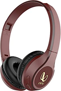 Infinity (JBL) Glide 500 Wireless Headphones with 20 Hours Playtime (Quick Charge), Deep Bass and Dual Equalizer (Passion ...