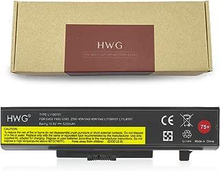 HWG B590 High Capacity 75+ Battery (10.8V 5200mAh/56Wh) for Lenovo B590 E430 E431 E435 E440 E445 E530 E531 E535 E540 E545 45N1048 45N1049 45N1043 45N1042
