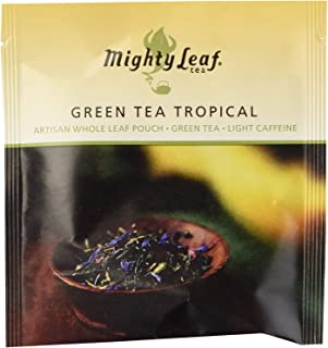 Mighty Leaf Green Tea Tropical 100ct. - PACK OF 2
