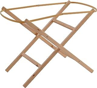 Clair de Lune Wooden Folding Moses Basket Stand