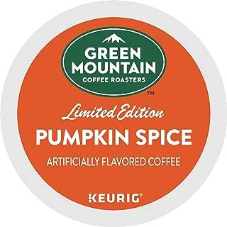 Green Mountain Coffee Roasters Seasonal Selections Pumpkin Spice, Keurig Single-Serve K-Cup Pods, Light Roast Cofee, 32 Count