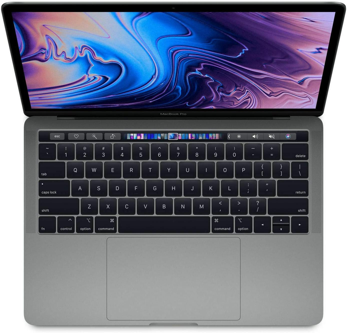 Apple MacBook Pro 13.3in MR9Q2LL/A with Touch-Bar 2018 - Intel Core i7 2.7GHz, 16GB RAM, 1TB SSD - Space Gray (Renewed)