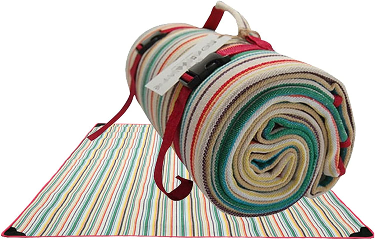 Jacksonville Challenge the lowest price Mall FKDG Picnic Blanket Large Waterproof Moisture Soft Backing Proof