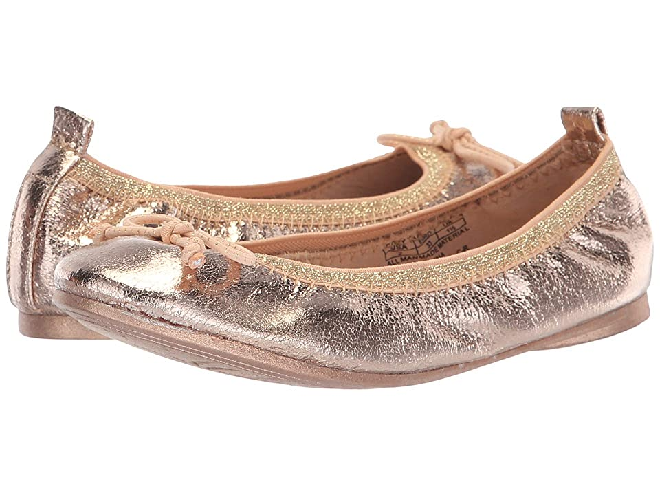 Kenneth Cole Reaction Kids Copy Tap (Little Kid/Big Kid) (Rose Metallic) Girls Shoes