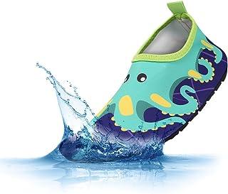 PADGENE Chaussures d'eau Enfants Garçons Filles Bébés Unisexe Chaussures Plage Piscine Natation