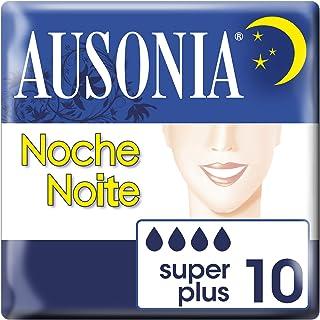 AUSONIA compresas noche superplus 10 uds