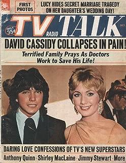 TV Radio Talk, October 1971, Volume IV, Number 49: David Cassidy and Shirley Jones Cover