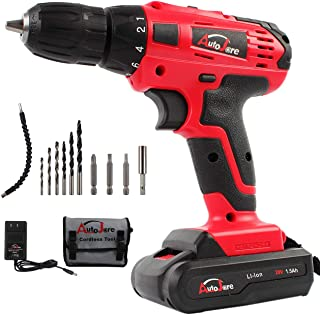 20V Electric Cordless Drill - 3/8