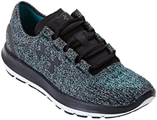 Under Armour Women's UA Speedform Slingride TRI Black/Glacier Gray/Black Sneaker 6.5 B (M)