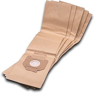 vhbw 5 sacchetti carta compatibile con Kärcher NT 48/1, 65/2, 70/3, 82/1, NT 72/2 aspirapolvere