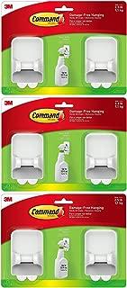 Command Spray Bottle Hangers Value Pack, 2-Hangers, 4-Large Strips (17009-HW2ES) (3)